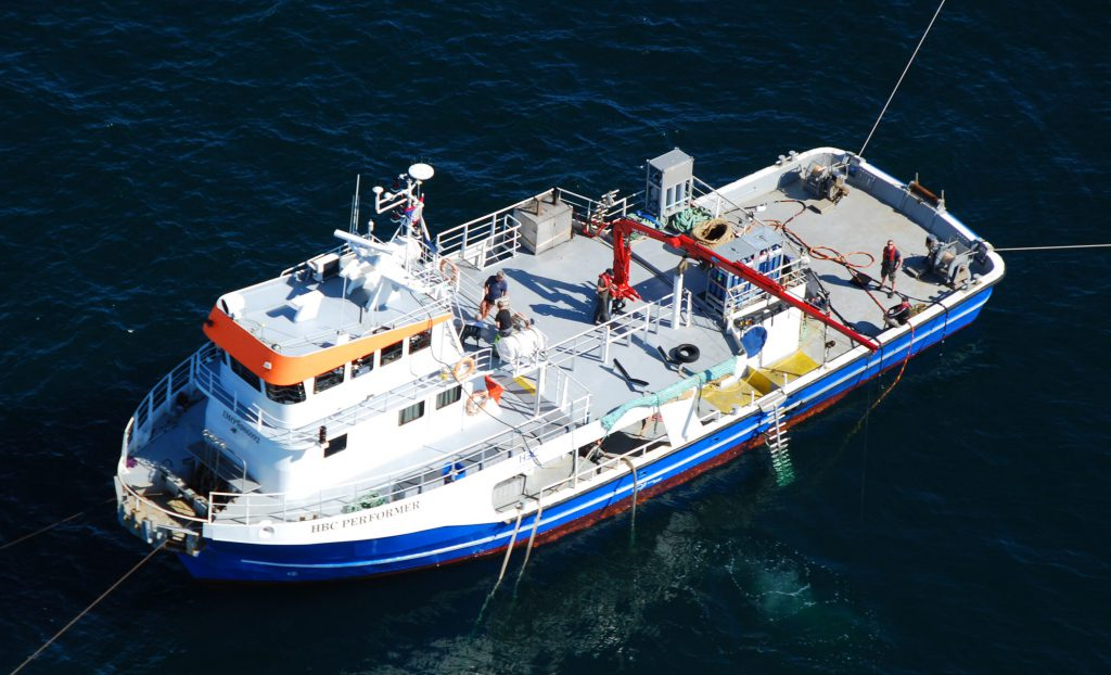 HBC Performer, Diving Vessel