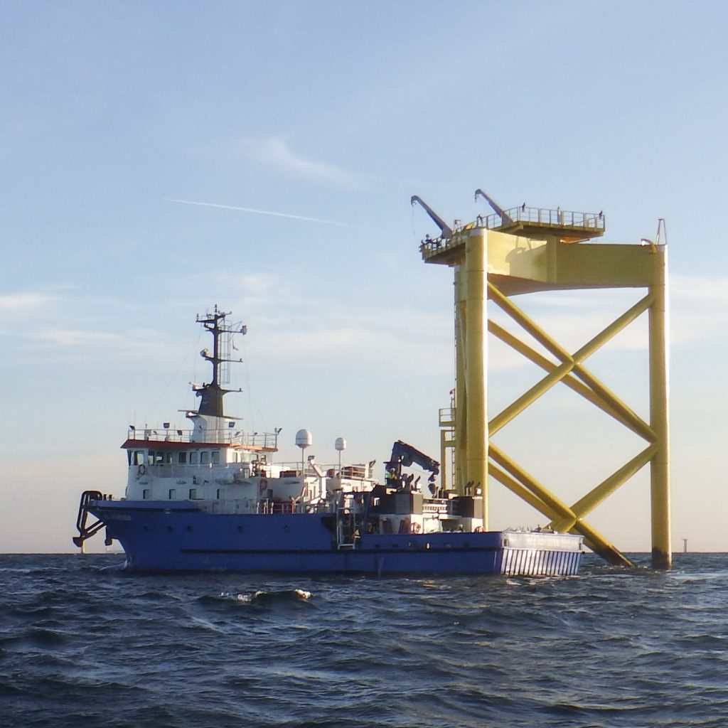 HBC Achiever at Offshore Windfarm