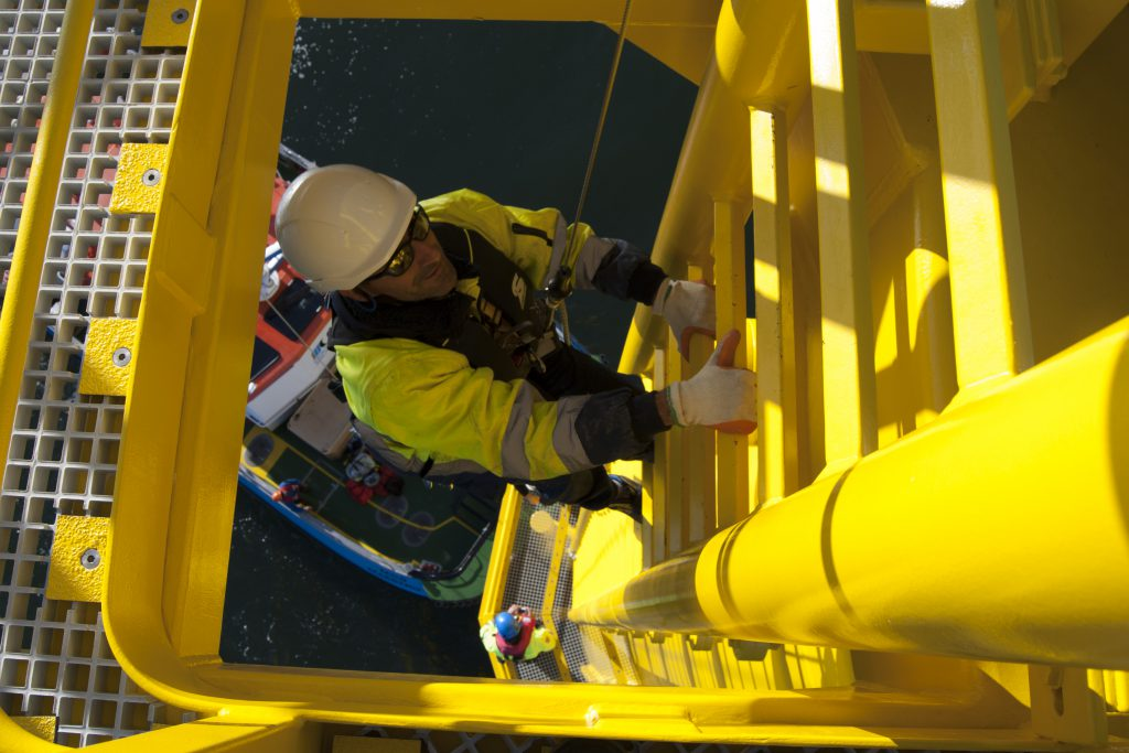 HBC Offshore Solutions Climbing