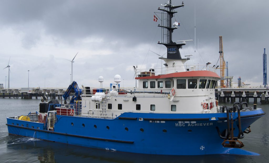 HBC Achiever, Dive Support Vessel, ROV Support Vessel